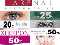 Ofertas de Arenal Perfumerías en el catálogo de Arenal Perfumerías ( Caduca mañana)