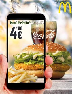 Ofertas de McDonald's  en el folleto de Madrid