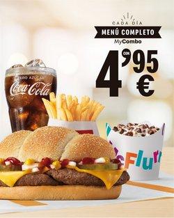 Ofertas de Restauración en el catálogo de McDonald's en Novelda ( 21 días más )