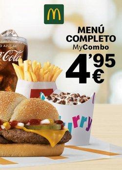 Ofertas de Restauración en el catálogo de McDonald's en Vilanova i la Geltru ( 20 días más )