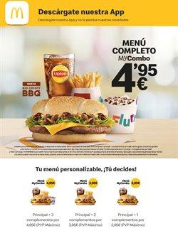 Catálogo McDonald's en Adeje ( 3 días más )
