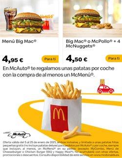 Ofertas de Coca-Cola en McDonald's
