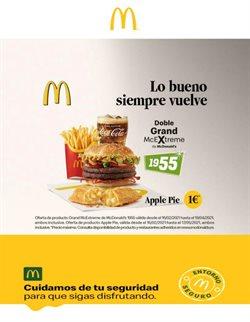 Catálogo McDonald's ( 2 días más)