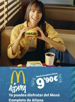 Ofertas de Restauración en el catálogo de McDonald's ( Caduca hoy)