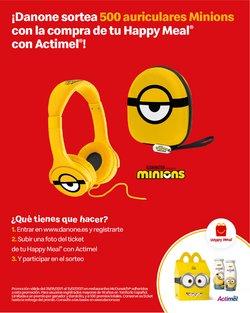 Ofertas de Actimel en el catálogo de McDonald's ( 23 días más)
