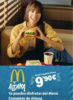 Ofertas de Restauración en el catálogo de McDonald's ( 5 días más)