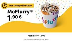 Cupón McDonald's en Torrelavega ( Caduca hoy )