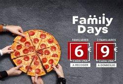 Ofertas de Restauración en el catálogo de Telepizza ( 10 días más)