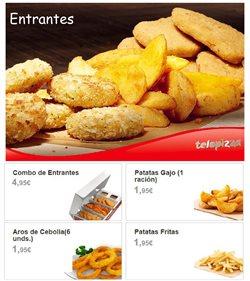 Ofertas de Precocinados vegetales  en el folleto de Telepizza en León