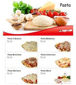 Ofertas de Arroz, pasta y legumbres  en el folleto de Telepizza en Zamora