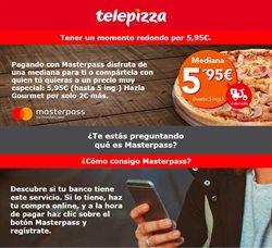 Ofertas de Restauración  en el folleto de Telepizza en Valladolid
