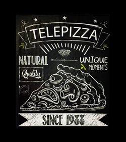 Ofertas de Restauración  en el folleto de Telepizza en Santiago de Compostela