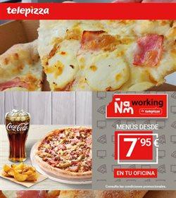 Ofertas de Restauración  en el folleto de Telepizza en Linares