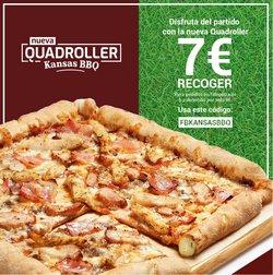 Ofertas de Restauración  en el folleto de Telepizza en Getxo