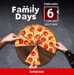 Ofertas de Restauración en el catálogo de Telepizza en Laredo ( Caduca hoy )