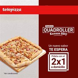 Catálogo Telepizza en Murcia ( Caduca hoy )