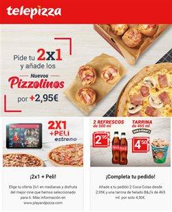 Ofertas de Restauración en el catálogo de Telepizza en Zaragoza ( 2 días más )