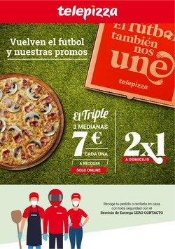Catálogo Telepizza en Madrid ( Caduca hoy )