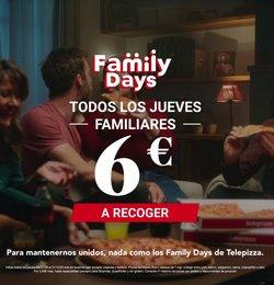 Catálogo Telepizza en Avilés ( Más de un mes )