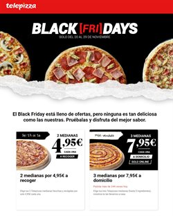 Ofertas de Disfruta en Telepizza