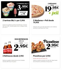 Ofertas de Coca-Cola sin cafeína en Telepizza
