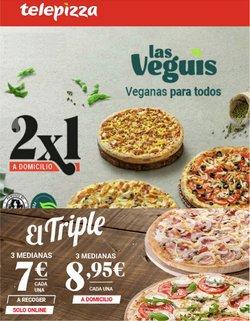 Catálogo Telepizza ( 13 días más)