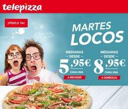 Ofertas de Telepizza en el catálogo de Telepizza ( Caducado)