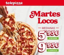 Ofertas de Restauración en el catálogo de Telepizza ( 4 días más)