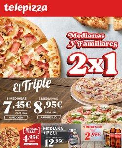 Ofertas de Restauración en el catálogo de Telepizza ( Publicado ayer)