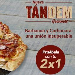 Ofertas de Pizza  en el folleto de Telepizza en Motril