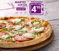 Ofertas de Telepizza  en el folleto de A Coruña