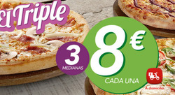 Ofertas de Telepizza  en el folleto de Getafe