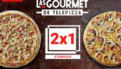 Ofertas de Restauración  en el folleto de Telepizza en Lugo