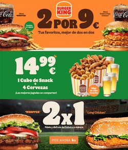 Ofertas de Burger King en el catálogo de Burger King ( Publicado hoy)
