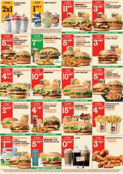 Ofertas de Restauración en el catálogo de Burger King ( 18 días más)