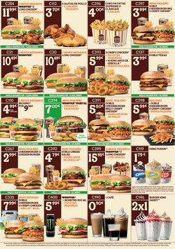 Catálogo Burger King ( 22 días más)