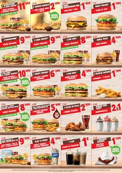 Ofertas de Restauración  en el folleto de Burger King en Pamplona