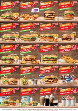 Ofertas de Hamburguesas de pollo  en el folleto de Burger King en Bilbao