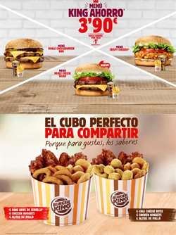 Ofertas de Restauración  en el folleto de Burger King en Marratxi