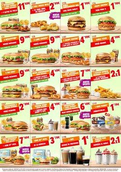 Ofertas de Restauración  en el folleto de Burger King en Logroño