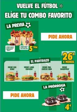 Catálogo Burger King ( 25 días más )