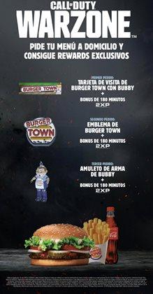 Catálogo Burger King en Oviedo ( Caduca hoy )