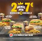 Ofertas de Restauración en el catálogo de Burger King en Abrera ( 5 días más )