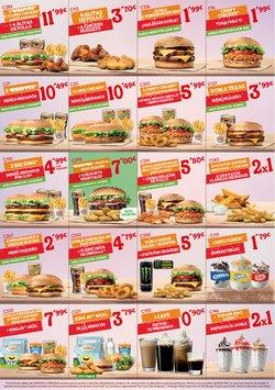 Catálogo Burger King ( Caduca mañana)