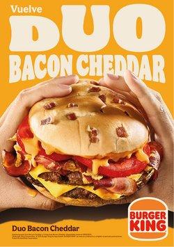 Catálogo Burger King ( Publicado ayer)