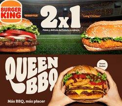 Ofertas de Burger King en el catálogo de Burger King ( Caducado)