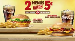 Ofertas de Burger King  en el folleto de Cartagena