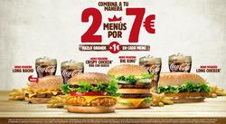 Ofertas de Burger King  en el folleto de El Ejido