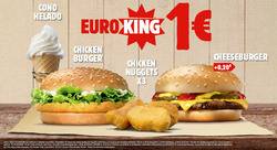Ofertas de Burger King  en el folleto de Zaragoza