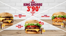 Ofertas de Burger King  en el folleto de Fuenlabrada
